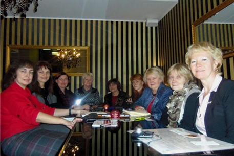 A meeting with representatives of women's clubs of Estonia was held in Tallinn