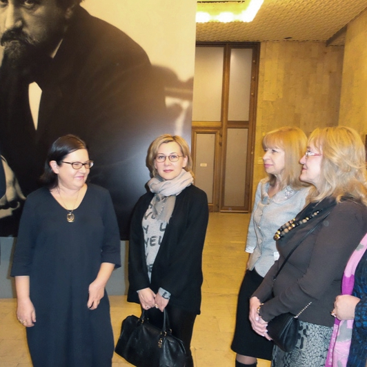 An exhibition of works by Valentin Serov at the Tretyakov Gallery